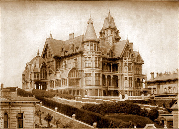 The Mark Hopkins mansion, San Francisco-1800's