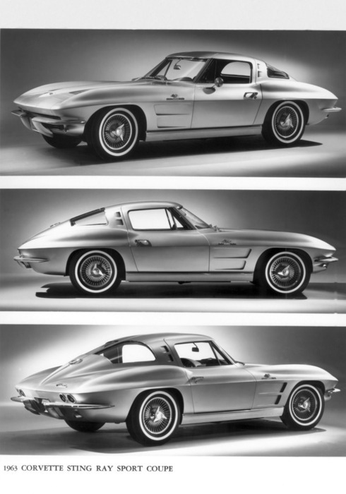 They don't make 'em like they used to—1963 Corvette Stingray Coupe