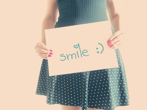 Something we should do often…SMILE.