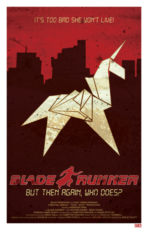 Blade Runner by joneallen Available here