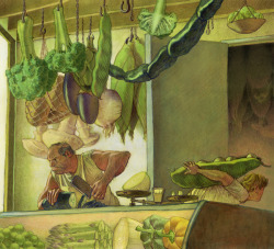 bittersweetart:  The Vegetable Butcher by Michael Lauritano