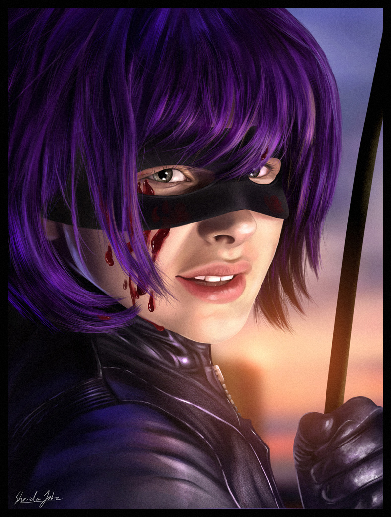 Hit-Girl by Sheridan Johns