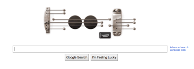 Happy Birthday for Les Paul by Google