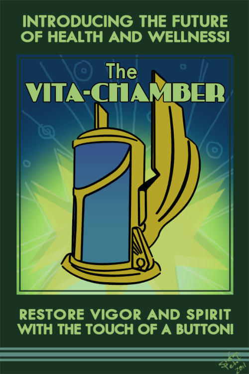 insanelygaming:  Vita-Chamber // By: Stefan Petit
