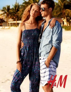 Clement Chabernaud & Frida Gustavsson | H&M : After Beach, 2011