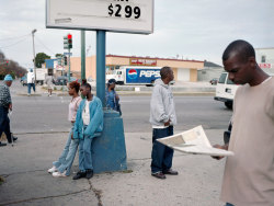 PAUL GRAHAM. He has always been one of my favourite photographers. The Whitechapel Gallery are currently exhibiting a retrospective of his work. I would really like to go.