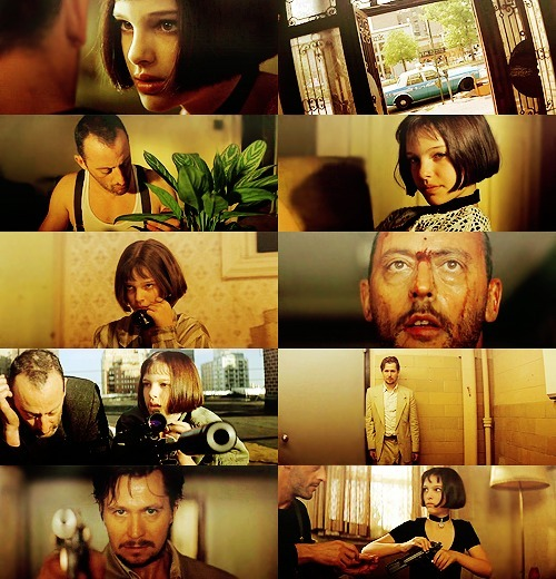 300 FAVORITE MOVIES (in no particular order)  14. Léon (1994) Mathilda: Is life always this hard, or is it just when you're a kid?   Leon: Always like this.