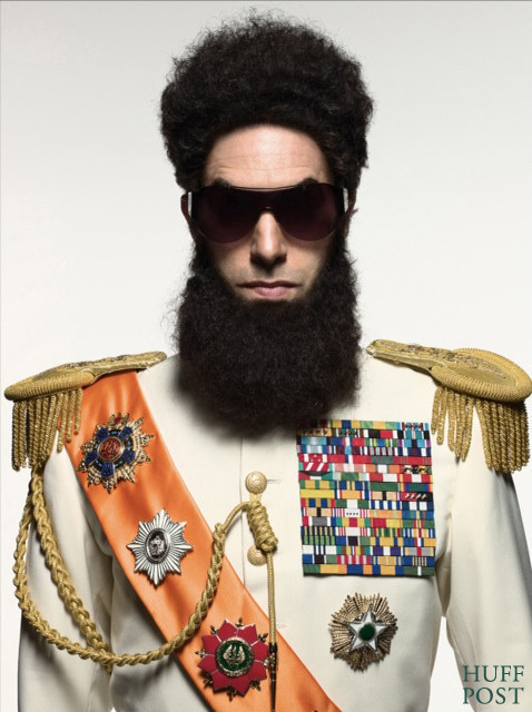 First Official Look: Sacha Baron Cohen As The Dictator | HuffPo