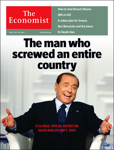 SLOW. CLAP. The amazing cover line from the U.K. edition of the Economist. And the story.