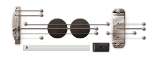 Google is doing something fun today in honor of Les Paul, the guitar inventor and musician, who would have turned 96 today (he died two years ago). On Google.com, you can play and record your own song on a virtual guitar. Here's your chance at stardom. Record a song, and then add the  finished link to a tweet with the hashtag #ATXGoogle. The tweets will be  displayed on Austin360.com. We'll pick our three favorites at 3 p.m. today, and each will receive  family four packs of tickets to the June 28 Round Rock Express game.  Those chosen will have to pick up the tickets at our office at 305 S. Congress Avenue. Your tweets will show up here