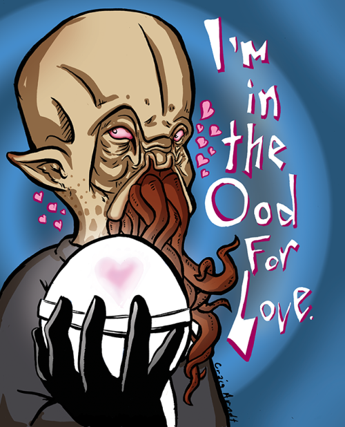 I did this after watching the Neil Gaiman episode. Sometimes the ood hits us all.