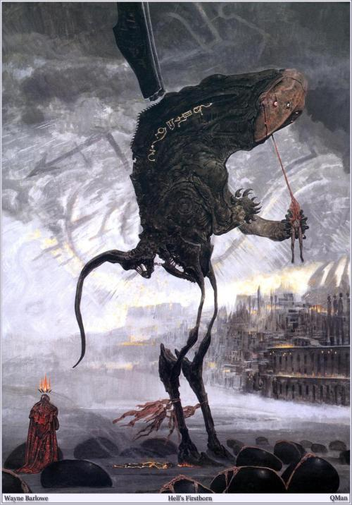 Wayne Barlowe is the shit