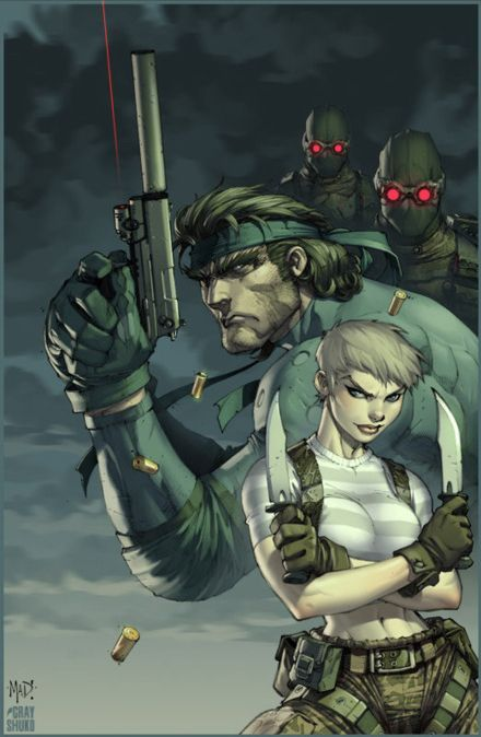 Metal Gear Solid Joe Madureira & Gray Shuko