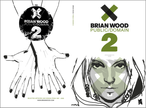 brianwood:  I am offering a free download of the entire 132-page Public Domain 2 artbook.  It's about 115 megs, nicely high res, and looks great imported onto my iphone and ipad.  It represents about a decade of sketches and random art. If you like it, please pick up a copy of the signed and numbered ltd ed print book!  Khepri's selling the remaining stock, both editions, and its the only place you can pick it up.  There will be no further editions of the book beyond this.  Also be sure to check out the mini-screenprints. Enjoy! Click to download (direct link to pdf, right-click to save)
