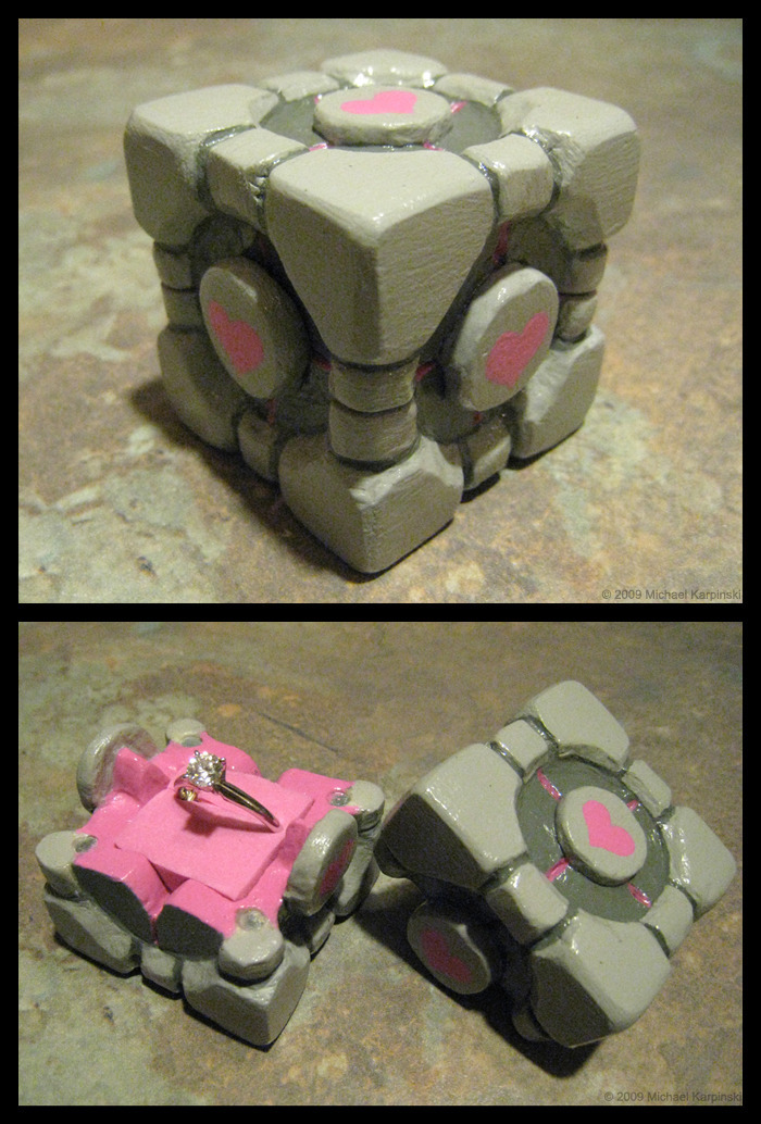 be my companion cube