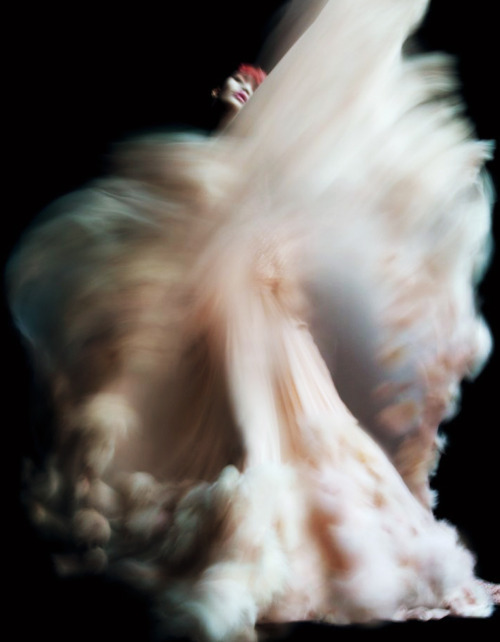 Model: Ming Xi in Chanel Haute Couture  Photography: Nick Knight  Client: V Magazine No.71 {Summer 2011}