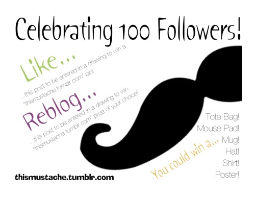 thismustache:  **participants must be followers of thismustache.tumblr.com**