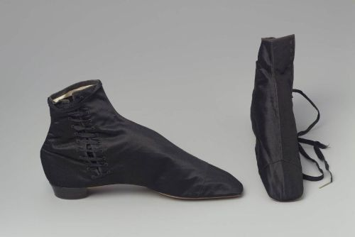 Boots, 1855-60 France, MFA Boston I want boots like this so bad.