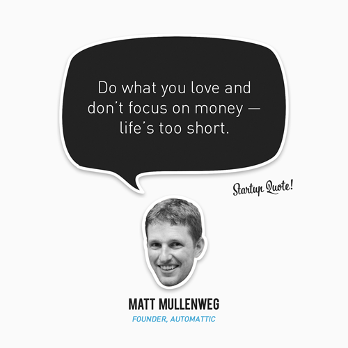 laughingsquid:  Startup Quote: Matt Mullenweg