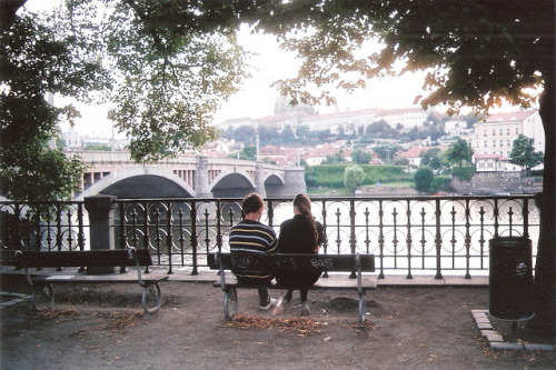 13footsteps:  untitled by EYLUL ASLAN on Flickr.   I love this bench, it's my favourite place after school