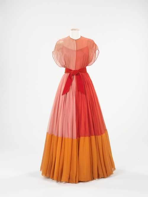 Evening Dress | James Galanos | 1959