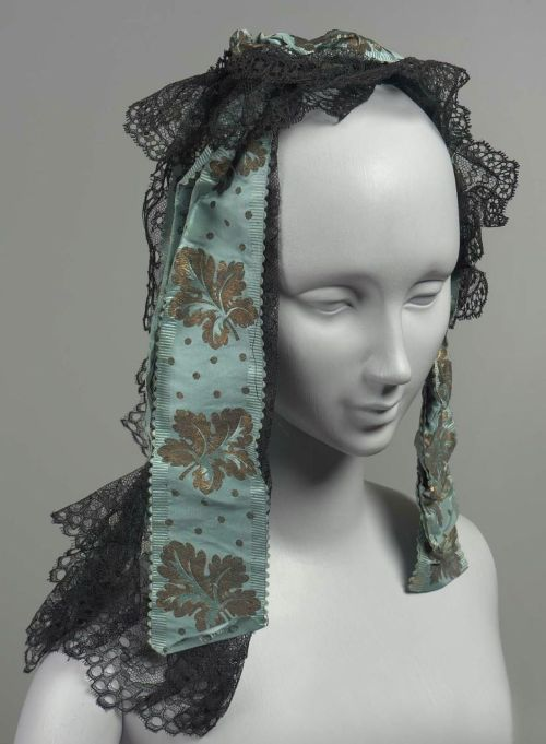 Headdress, mid-19th century United States, MFA Boston