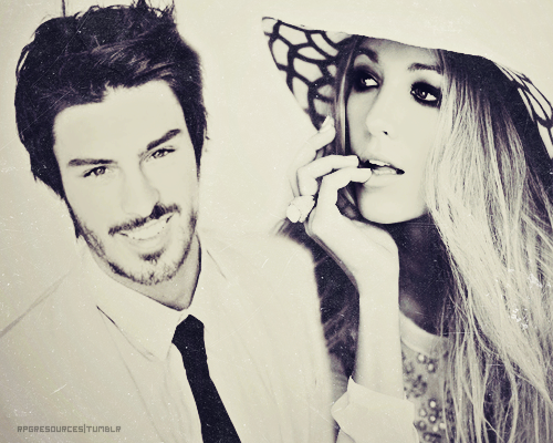 rpgresources:  Blake Lively and Adam Gregory | Made by Sydni | Requested by hollyworldd (As always, if you had something else in mind or want anything changed, let me know and I'll do what I can!)   Its perfect. Thank you very much. :) x