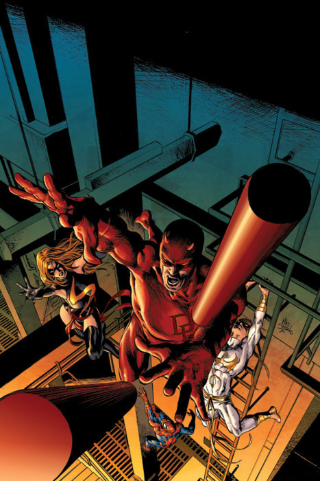 Guess who's going to join the (New) Avengers, during Fear Itself?Daredevil, yes. Not sure if he's going to stay after the arc, but it would definitely be interesting. 327
