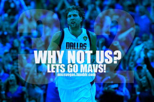 micsvegas:  *1 W away ! NBA Finals 3-2 MAVS !  Yes! I'm on such a high right now! What a team effort tonight, that was incredible. I am now convinced that my Jason Kidd shirt has mystical powers. Jason Kidd to all those people who said he had an off game in game 4:  :