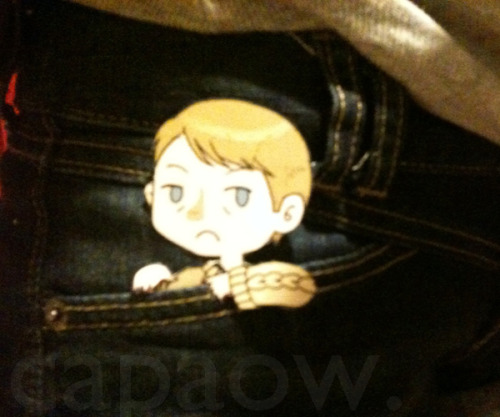 capaow:  HEY GUYS.LOOK! IT'S A POCKET!MARTIN!  Don't blame me…Benedict started it. Want a pocket!Martin too? [Link]