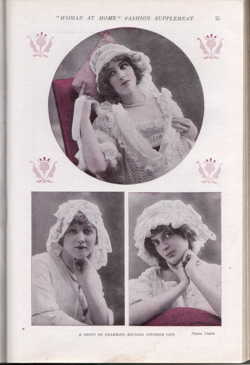 Magazine fashion shoots are nothing like they used to be (Woman at Home 1912)