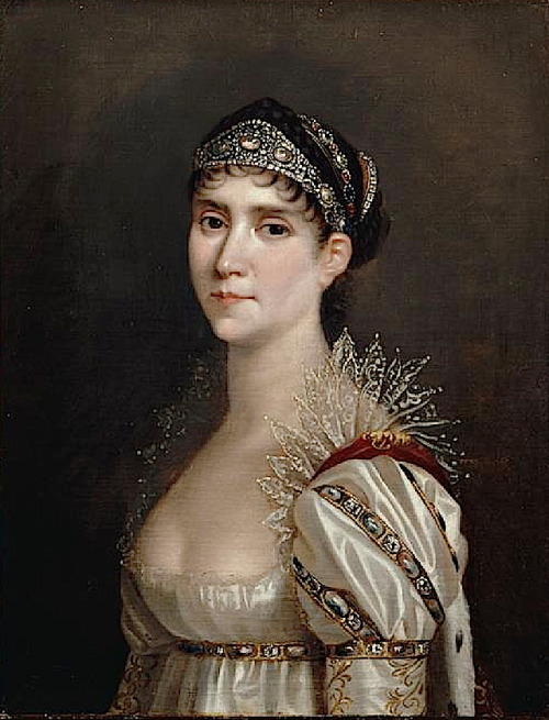 Empress Josephine, 1805 by Robert Lefevre A woman with many portraits!