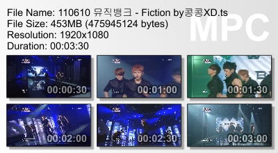 110610 Music Bank - Fiction Megaupload CR: 콩콩XD + Yui@ beastdownloads.tumblr.com