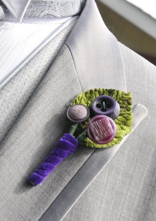 Charming Wedding Boutonniere