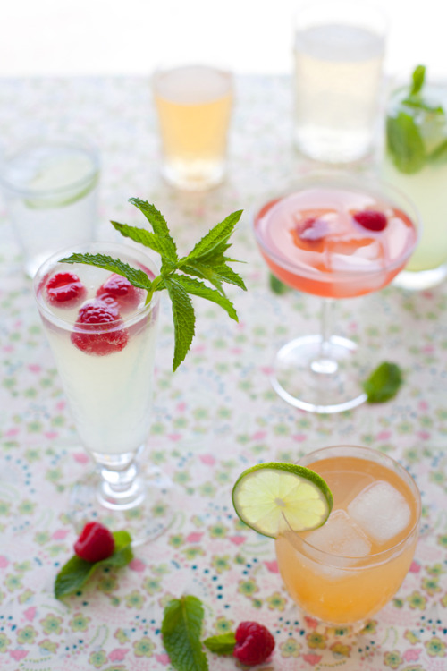 Yummy summer cocktails…