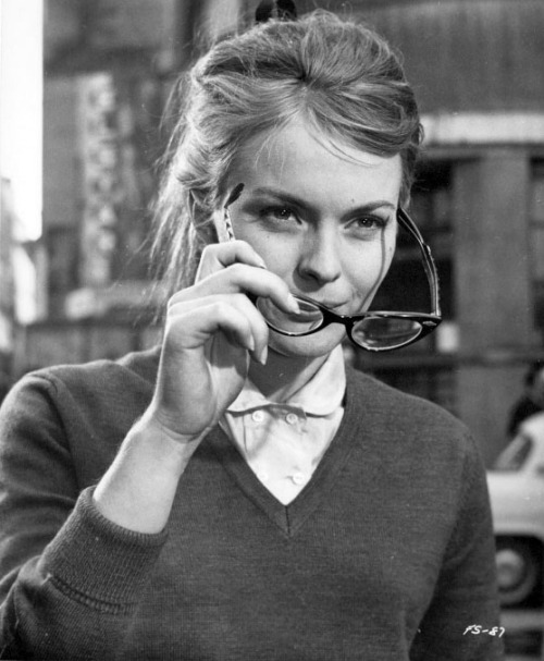 Jean Seberg in In the French Style, 1963.