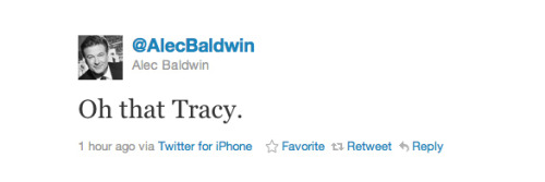 Alec Baldwin Weighs In On Tracy Morgan's Rant via Twitter | Buzzfeed With the frustrating diplomacy of a future politician.