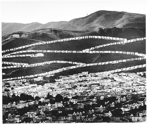 wonderfulambiguity:  Ansel Easton Adams, Housing Development, South San Francisco, ca. 1964