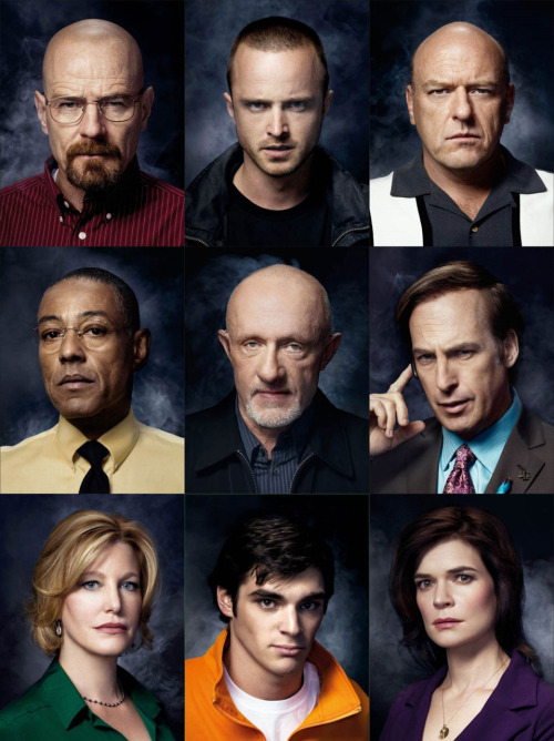 critictoo:  Beaking Bad - Season 4 Cast Promo Photo  YES YES YES JULY IS GONNA BE SO AWESOME