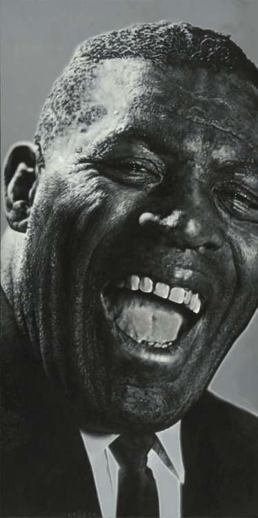 Howlin' Wolf by Sebastian Krüger  Acrylic on Canvas (2008)