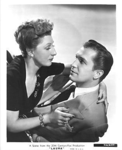 Judith Anderson and Vincent Price in Laura (1944)