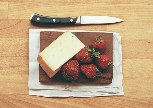 Strawberries and Cheese on Flickr.