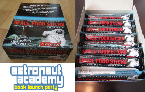 Space Sticks are ready for launch! Book Launch that is!  http://bergenstreetcomics.com/new-releases/astronaut-academy-class-in-session/