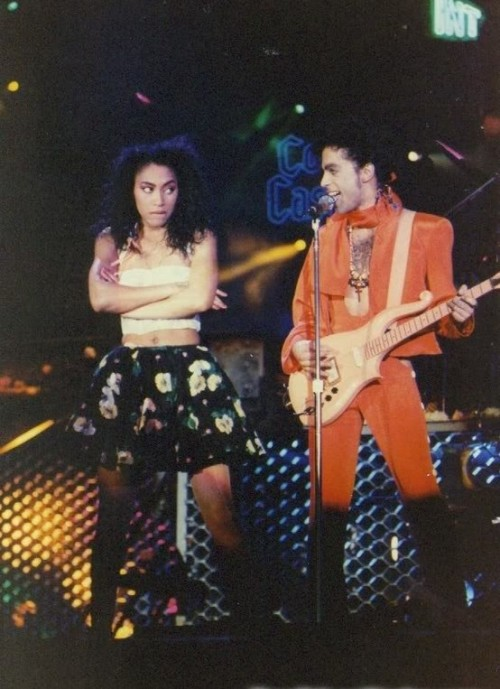 I loved, loved, loved Cat & Prince together! She friend-ed me on Facebook and I damn near lost it… She had so much personality during the Sign 'O' The Times movie and Prince always lit up when she was around <3