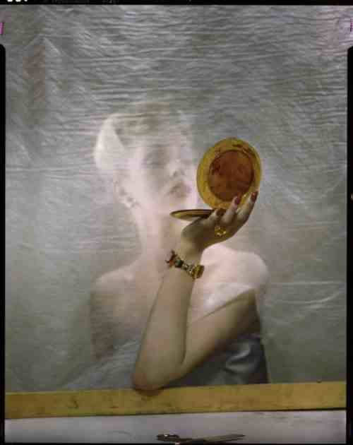 Le Poudrier ,1944 by Erwin Blumenfeld from frenchtwist