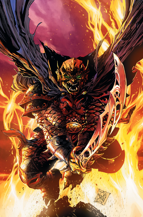 DC Comics - Acclaimed Creators with New Takes on Cult Heroes: Demon Knights #1 by Paul Cornell, Diogenes Neves and Oclair Albert. Cover art by Tony Daniel  Set in the Middle Ages, the Demon leads an unlikely team to defend  civilization and preserve the last vestiges of Camelot against the tide  of history. Critically-acclaimed writer Paul Cornell and artists  Diogenes Neves and Oclair Albert combine sorcery, swords and superheroes  in DEMON KNIGHTS #1.
