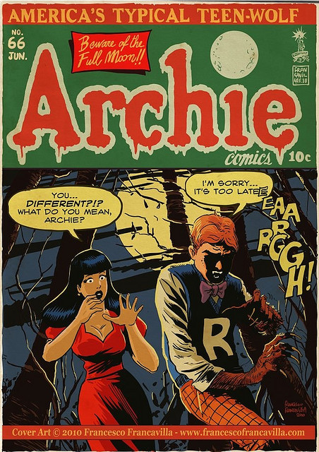 Nonesuch Archie comic book by Francesco Francavilla
