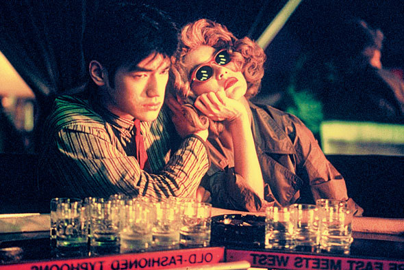 Still from Wong Kar Wai's 1994 film, Chungking Express