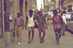 #Schwaza #NYC #BlackIvy Joe Kenneth Joshua Kissi Jesse Boykins III Kadeem Photo by: Fred Shavies