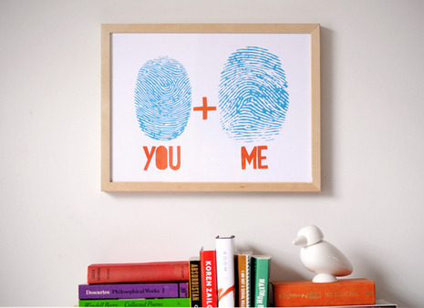 fingerprints love diy